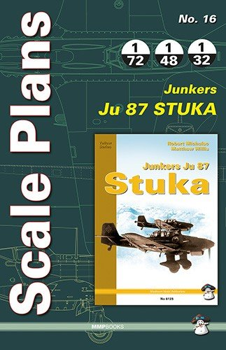 Scale Plans No. 16 Ju 87 Stuka