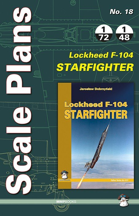 Scale Plans No. 18 Lockheed F-104 Starfighter