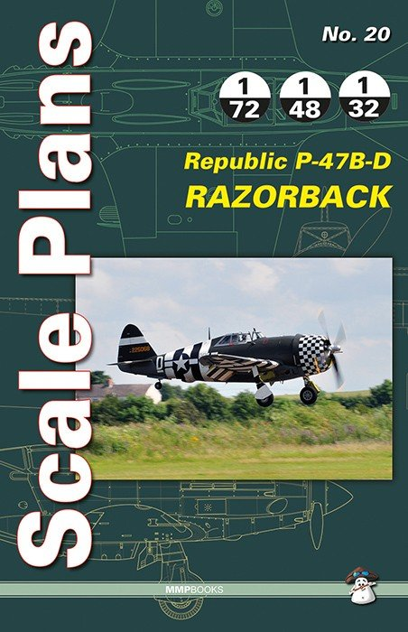 Scale Plans No. 20 Republic P-47B-D Razorback