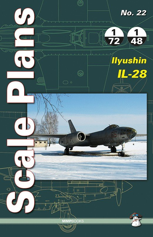 Scale Plans No. 22 Ilyushin Il-28