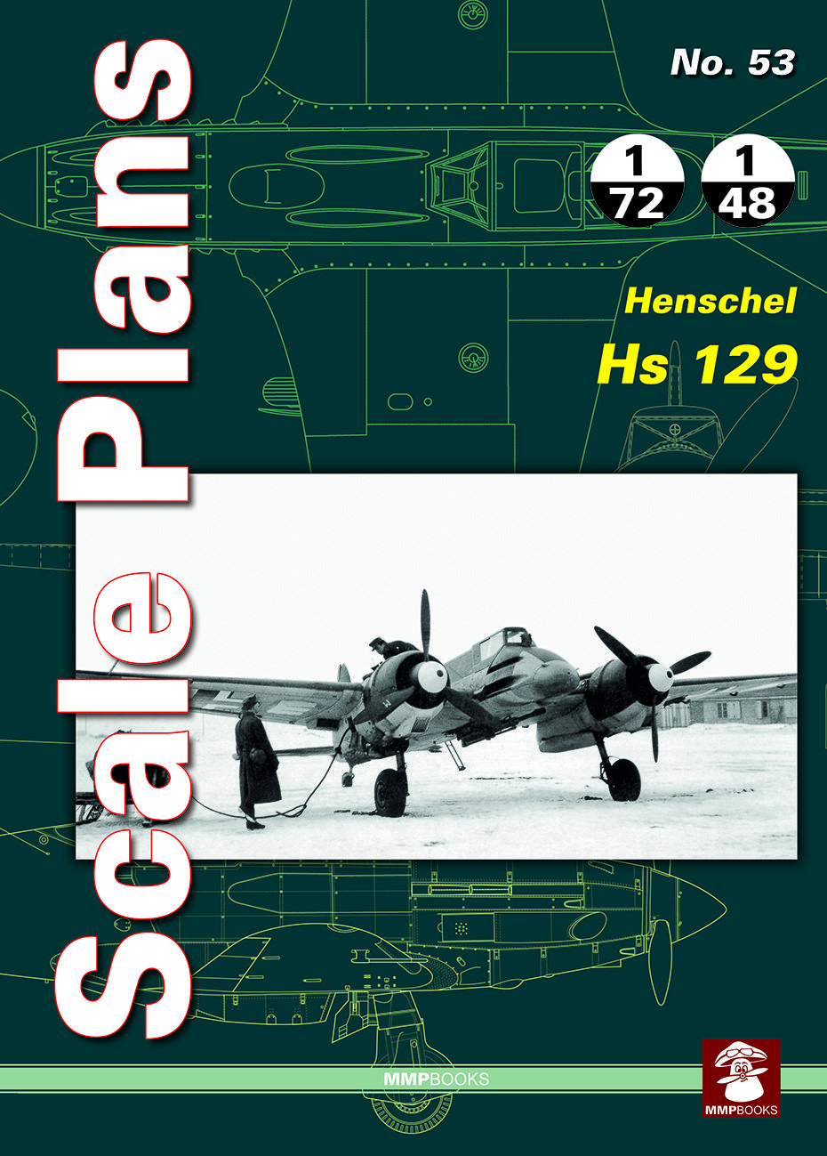 Scale Plans No. 53 Henschel Hs 129