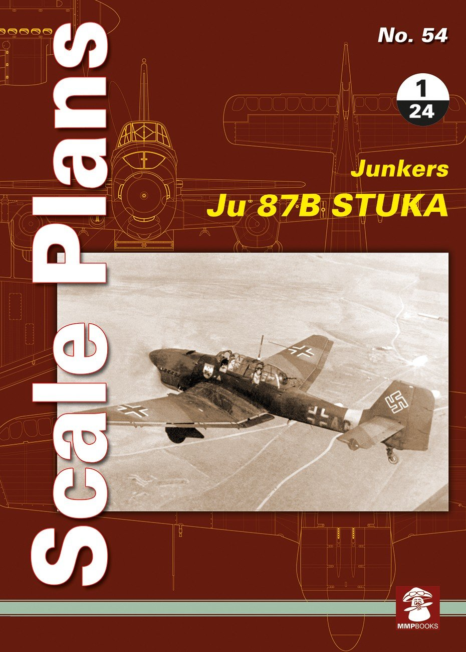 Scale Plans No. 54 Junkers Ju 87 B Stuka in 1/24
