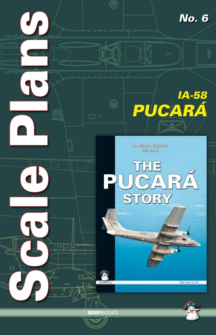 Scale Plans No. 6 IA-58 Pucara