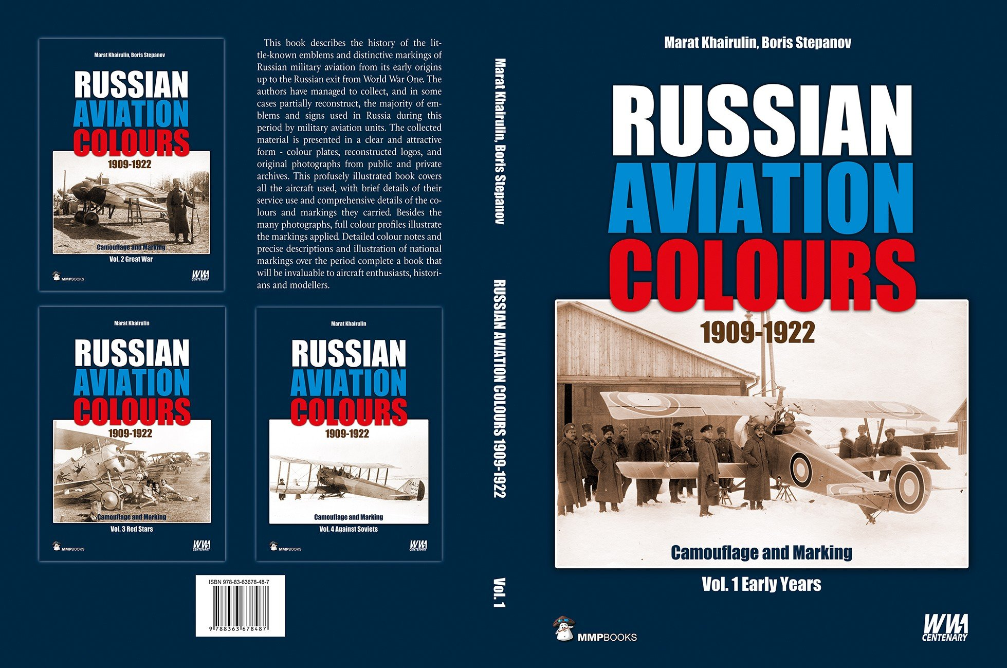 Russian Aviation Colours 1909-1922: Vol 1