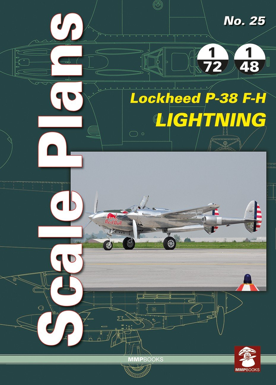 Scale Plans No. 25 Lockheed P-38 F-H Lightninig