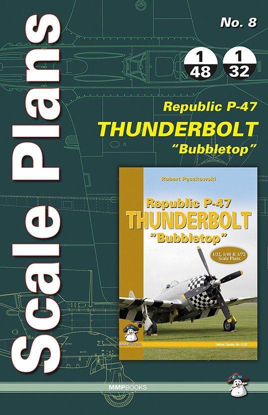 Scale Plans No. 8 P-47 Bubbletop