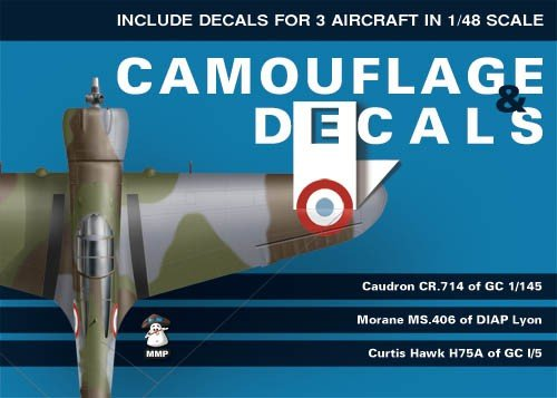 Caudron CR.714; Morane Ms.406;Curtiss Hawk H75A