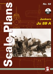 Scale Plans No. 58: Junkers 88 A 1/32